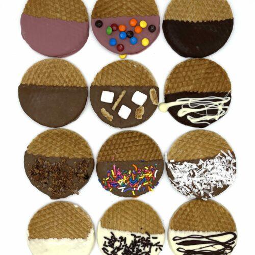 Chocolate Dipped Stroopwafels